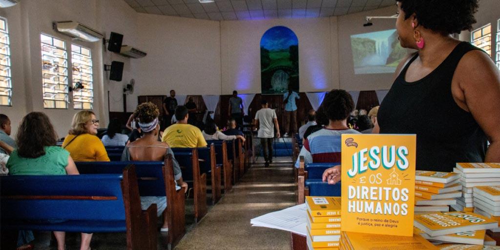 Lançamento Jesus e os Direitos Humanos | Usina de Valores