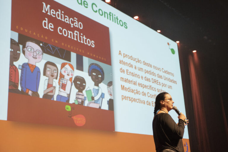 Ana Lúcia Catão apresenta o Caderno Mediação de Conflitos