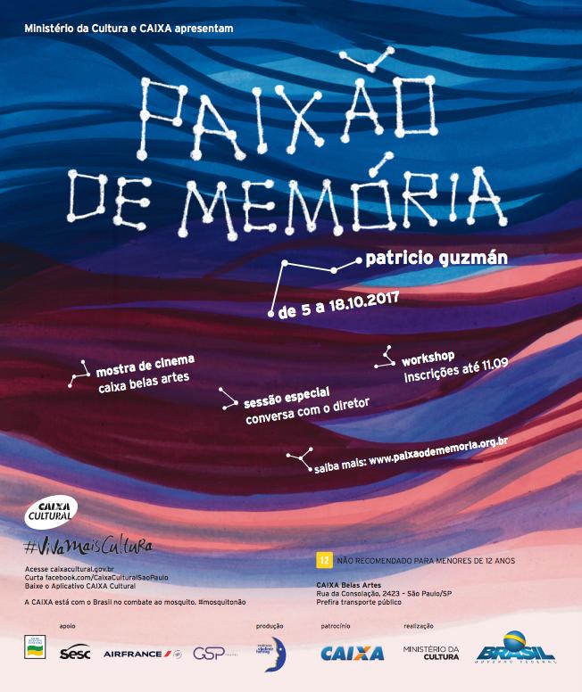 Patricio Guzmán ganha primeira mostra de cinema dedicada exclusivamente a sua obra em São Paulo