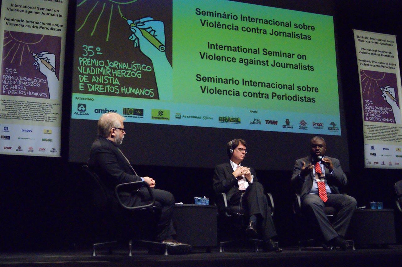 Seminário Internacional Sobre Violência Contra Jornalistas
