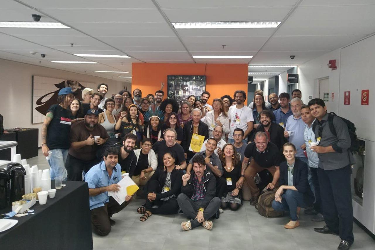 2º Encontro nacional de jornalistas e comunicadores, realizado em São Paulo, em 2019