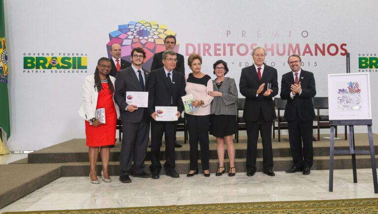Menção Honrosa do 21º Prêmio Direitos Humanos da Presidência da República