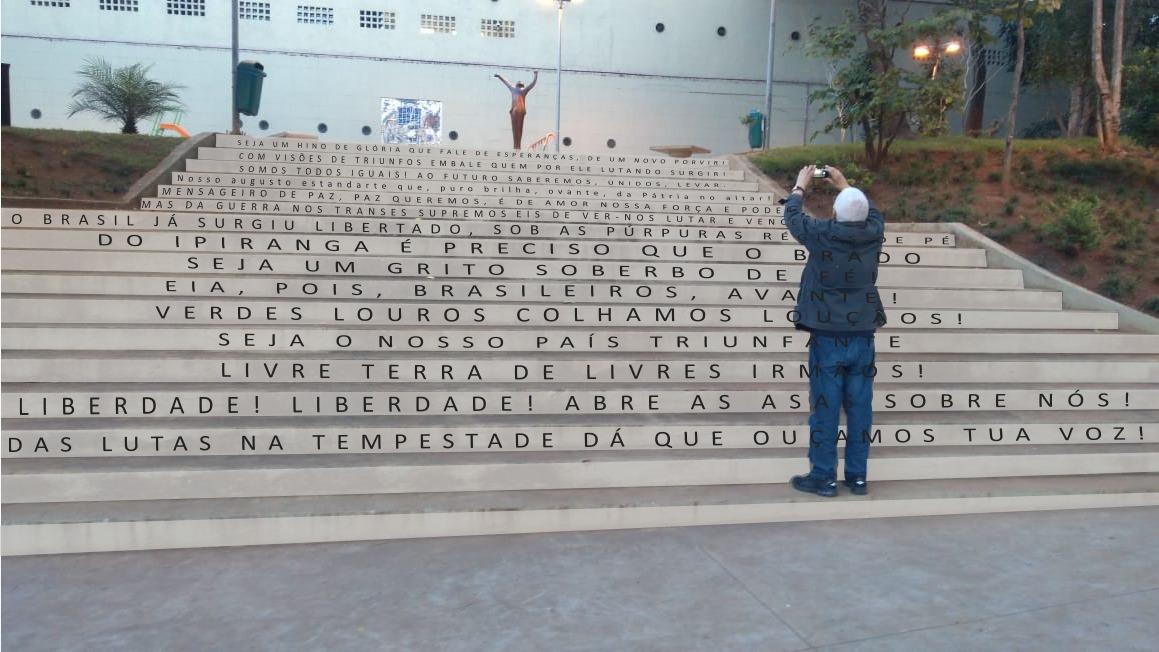 Praça Vladimir Herzog inaugura Escadaria da Liberdade